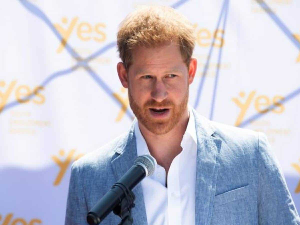 Prince Harry arrives in UK ahead of Prince Philip's funeral