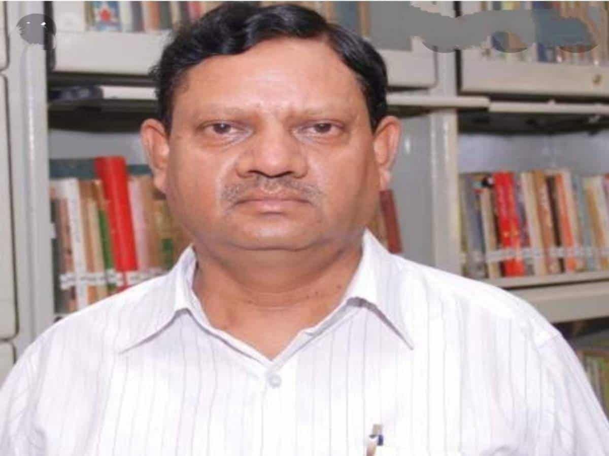 Prof Mohd Zafaruddin, senior faculty from MANUU passes away