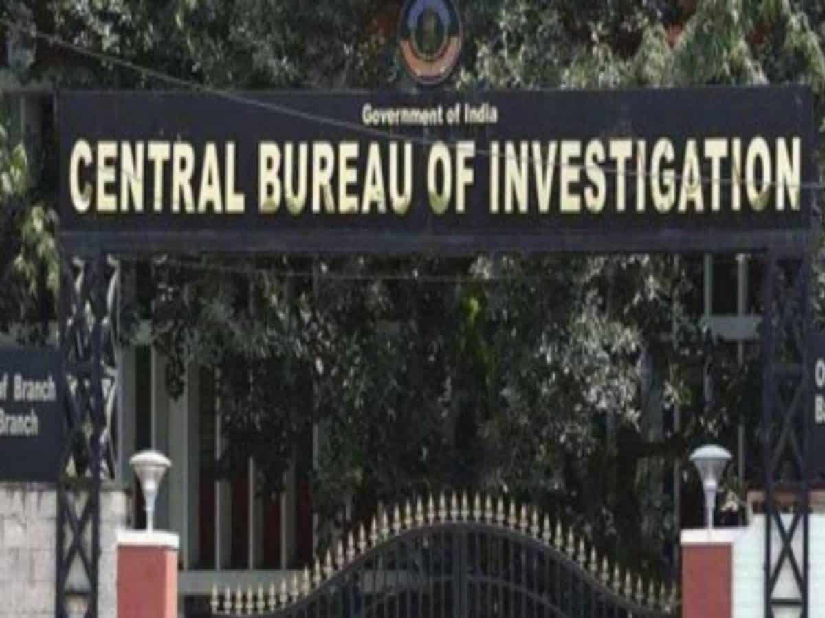 CBI registers case against Hyderabad-based company for causing loss of Rs 1285.45 cr to bank