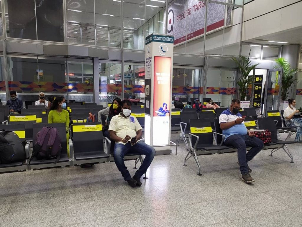 Hyderabad Airport officials appointed SPOs to enforce COVID-19 rules