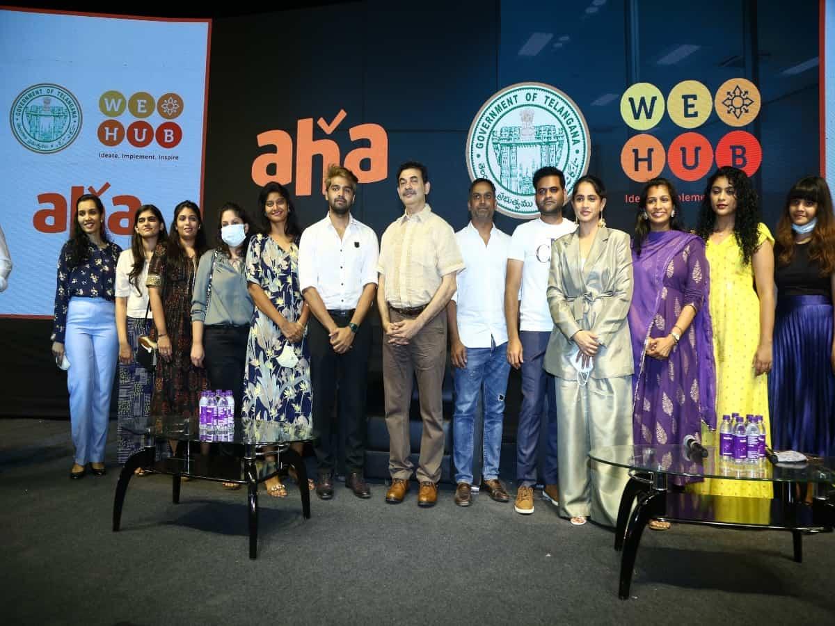 WE Hub and Aha launch programme to boost women entrepreneurship