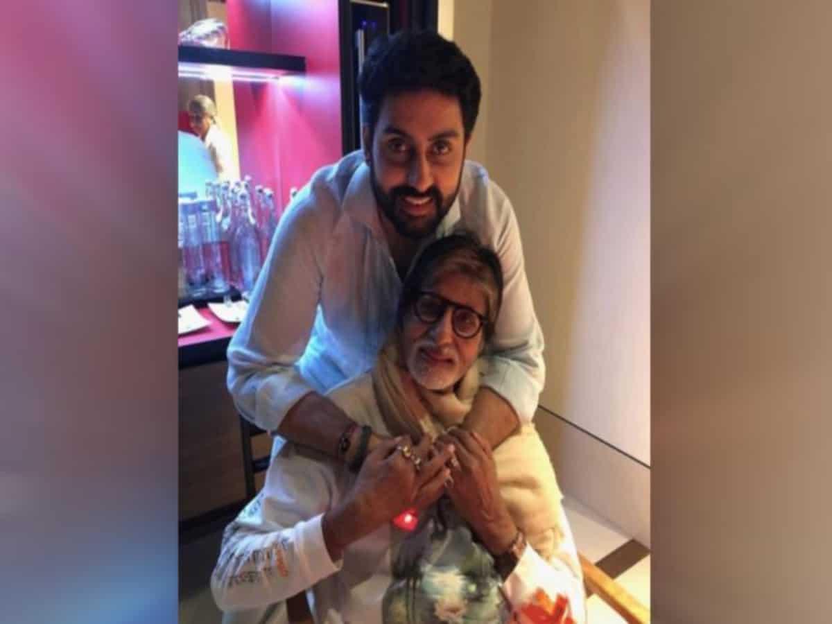 'Pride of a father': Big B celebrates Abhishek's 'The Big Bull' success