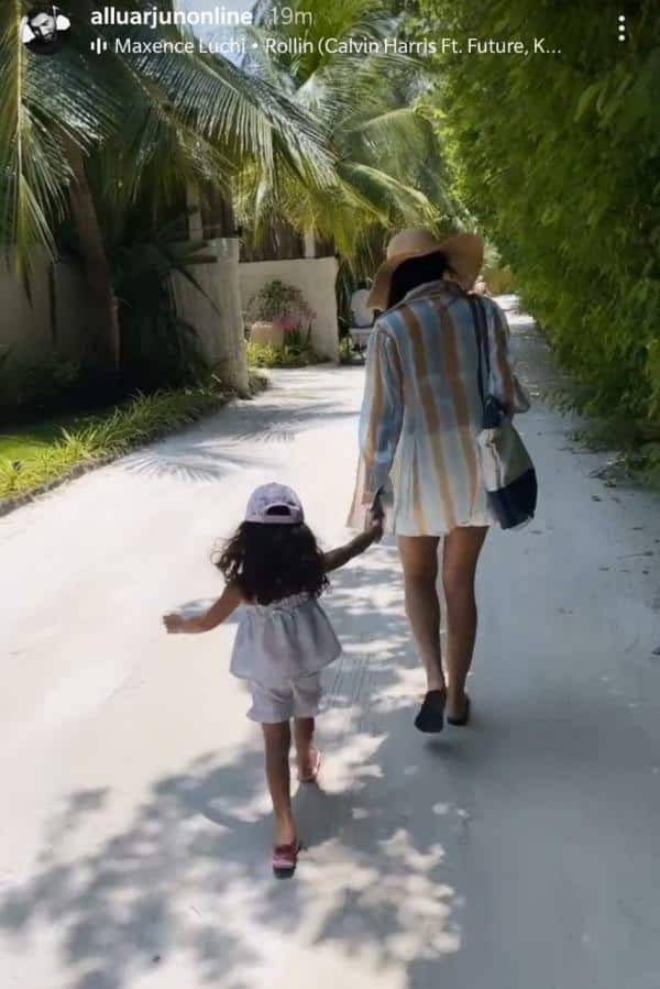 See pics: Allu Arjun's perfect family vacay in Maldives is Goals!
