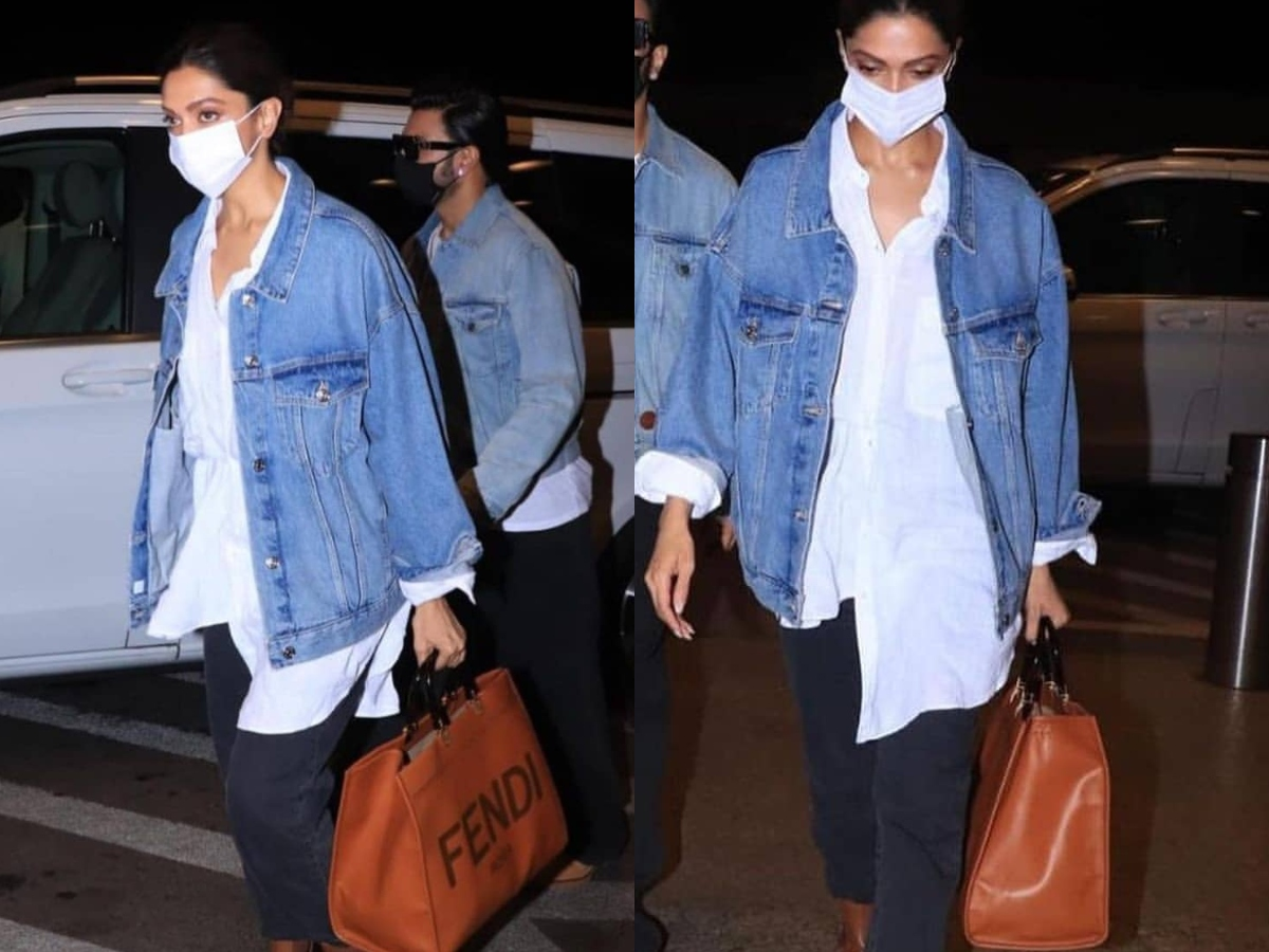 Price of Deepika Padukone's roma tote bag can buy you a Royal Enfield bike!