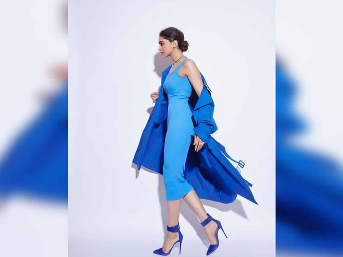 Deepika Padukone stuns fans in her cool blue summer ensemble