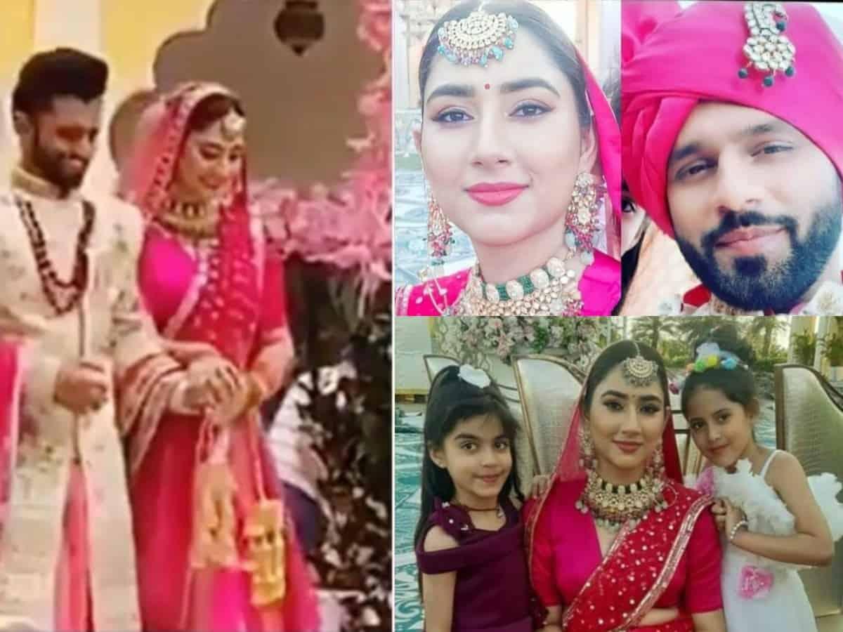 Rahul Vaidya, Disha Parmar got married? Viral pictures leave netizens surprised