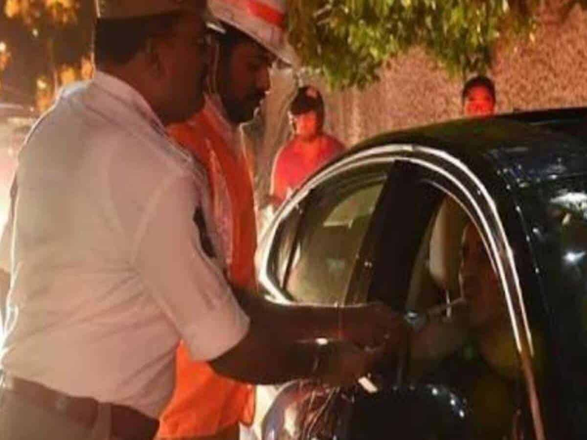 2049 drunk drivers caught by Hyderabad traffic cops