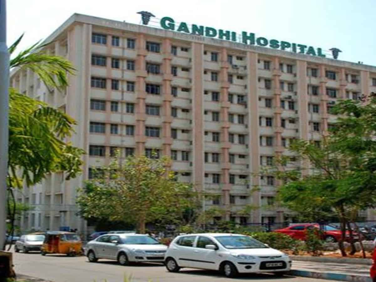 With cases surging, Gandhi Hospital stops all non-COVID services