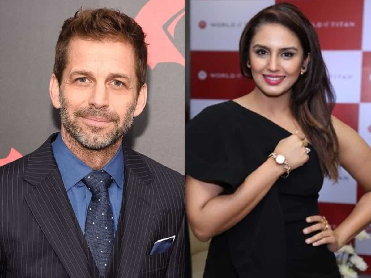 Huma Qureshi recalls first encounter with Zack Snyder