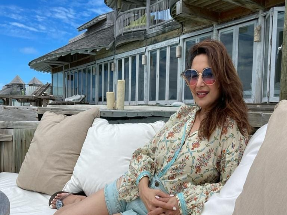 Madhuri Dixit's latest Insta post is sure to drive away your Monday blues