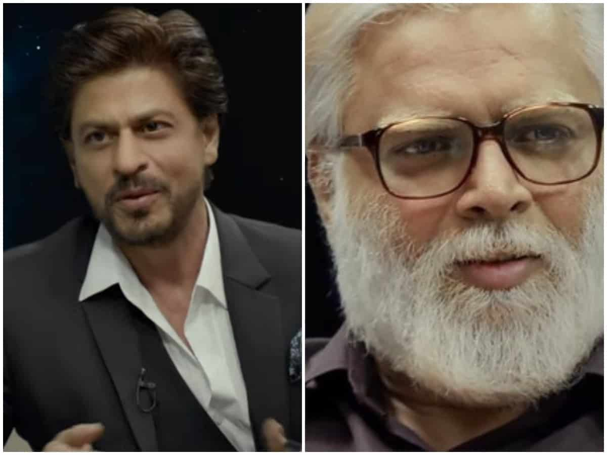 Rocketry trailer: Fans excited for SRK's return onscreen with R Madhavan's film