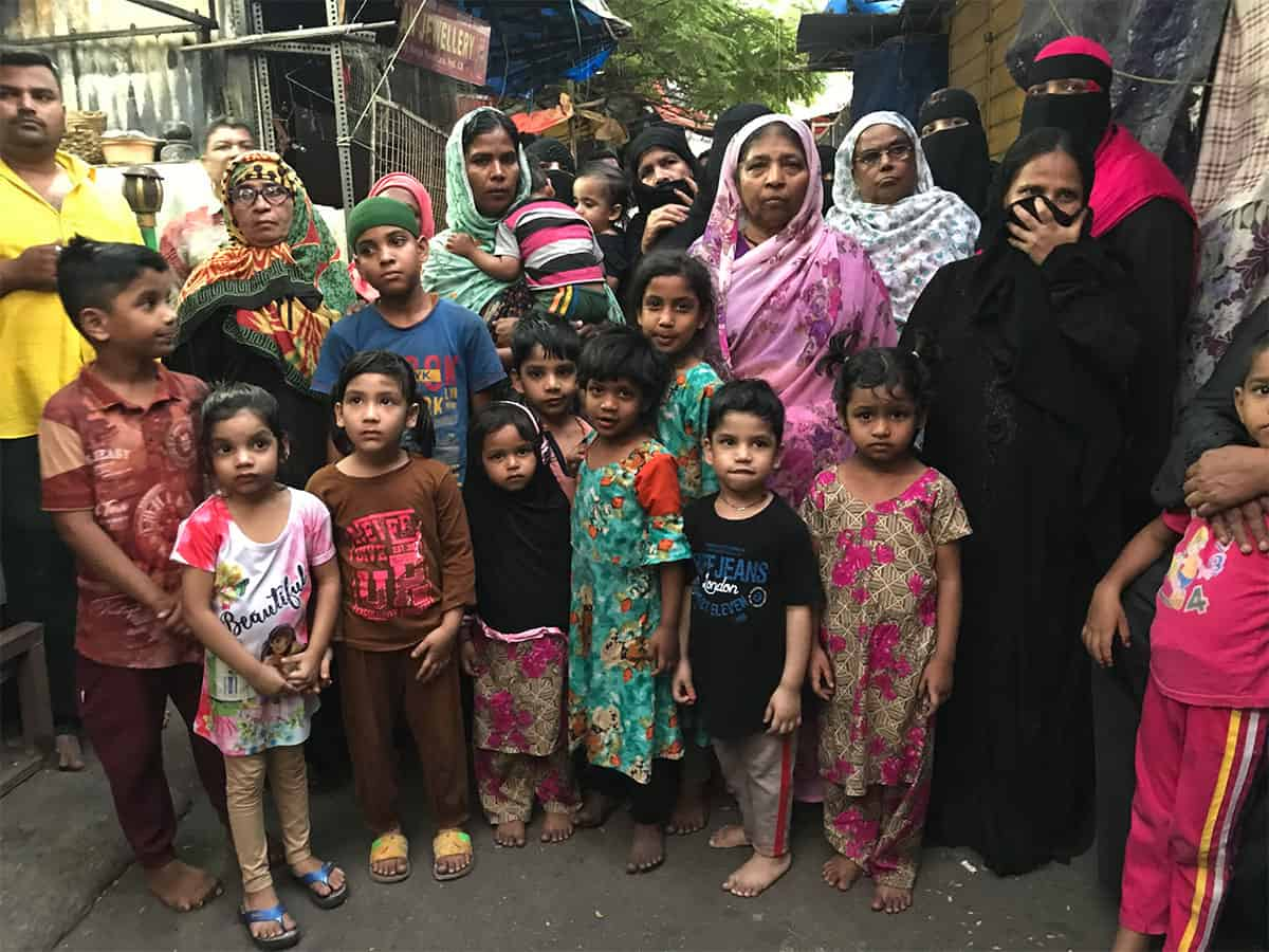 Yousufain Dargah fire: Affected families stage protest