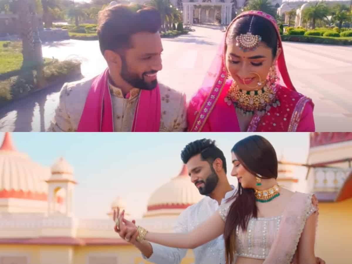 Watch: Rahul Vaidya, Disha Parmar's wedding video is all about love