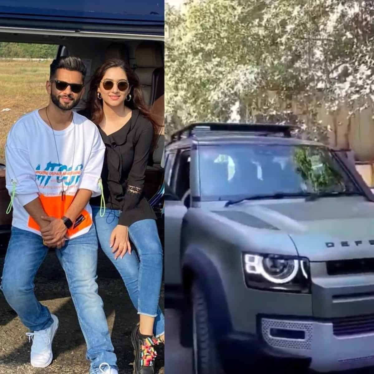 Rahul Vaidya takes ladylove Disha Parmar on luxury car ride, viral video