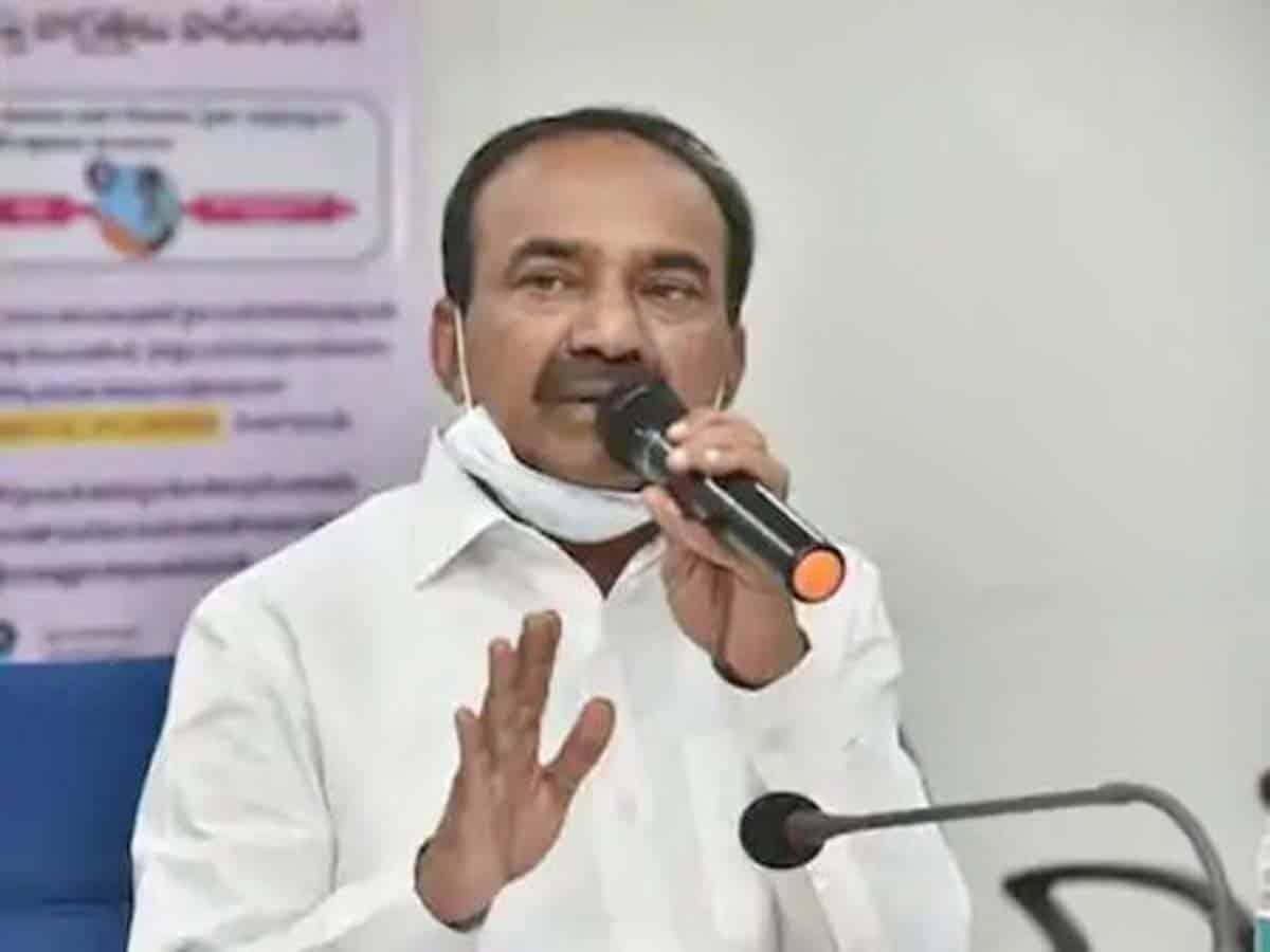 Etela again refutes lockdown imposition reports in Telangana