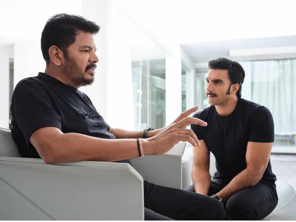 Ranveer Singh collaborates with Robot director Shankar, details inside