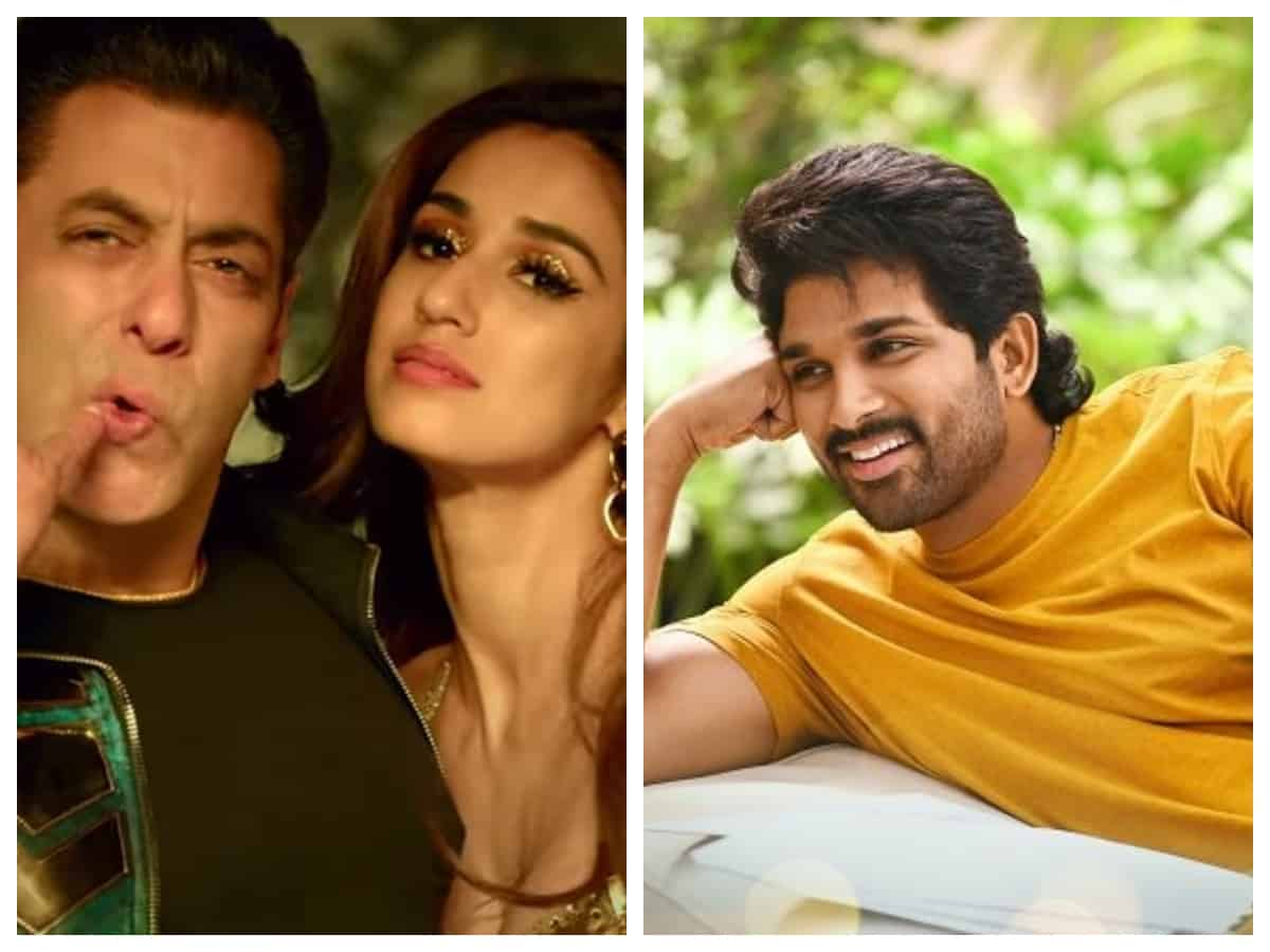 Salman Khan is all praises for Allu Arjun as he launches 'Seeti Maar' from Radhe