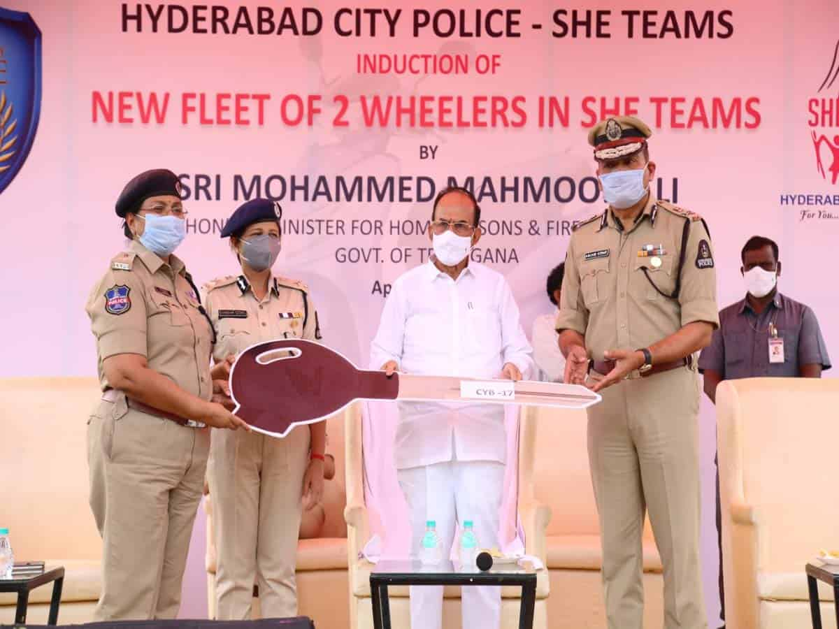 She teams will provide more security to women: HM Mahmood Ali