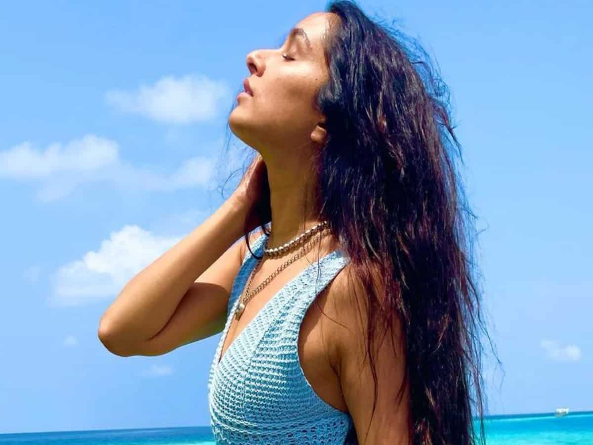 Shraddha Kapoor treats fans with mesmerising pictures from Maldives
