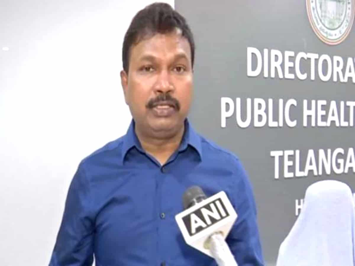 Tests, vaccination ramped up in TS : Director Health