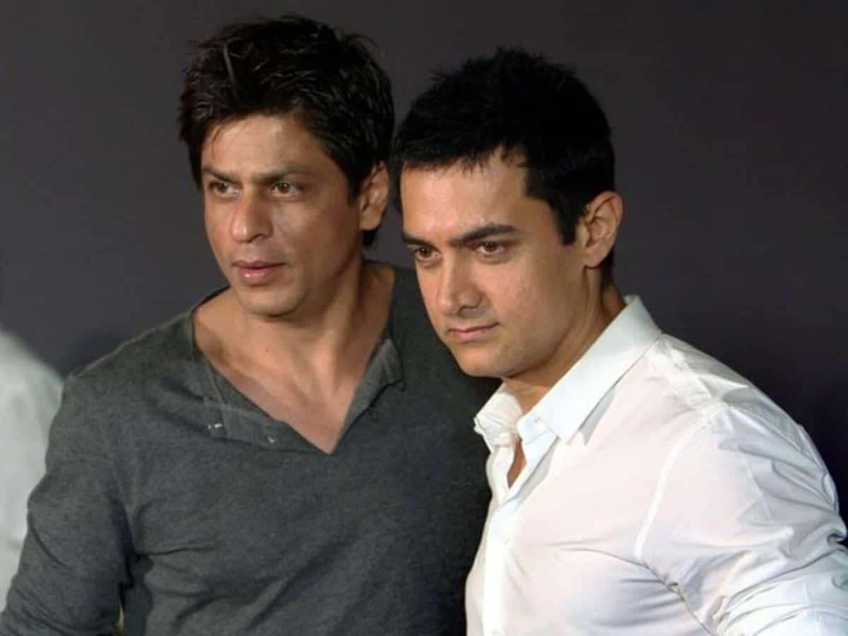 #AskSRK : Shah Rukh Kan reveals his 5 favourite movies of Aamir Khan