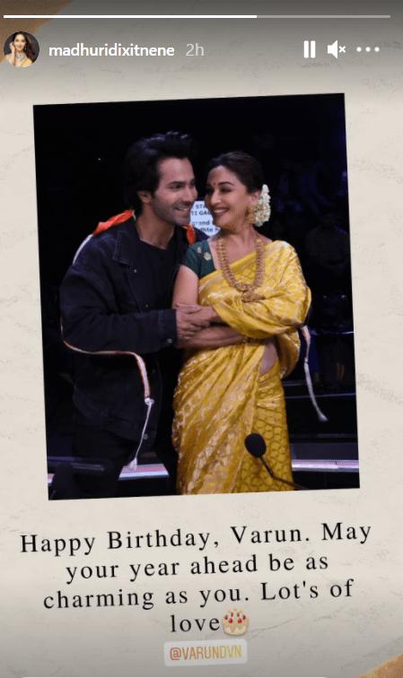 Varun Dhawan turns 34: Nora, Arjun, Madhuri pour in love, wishes