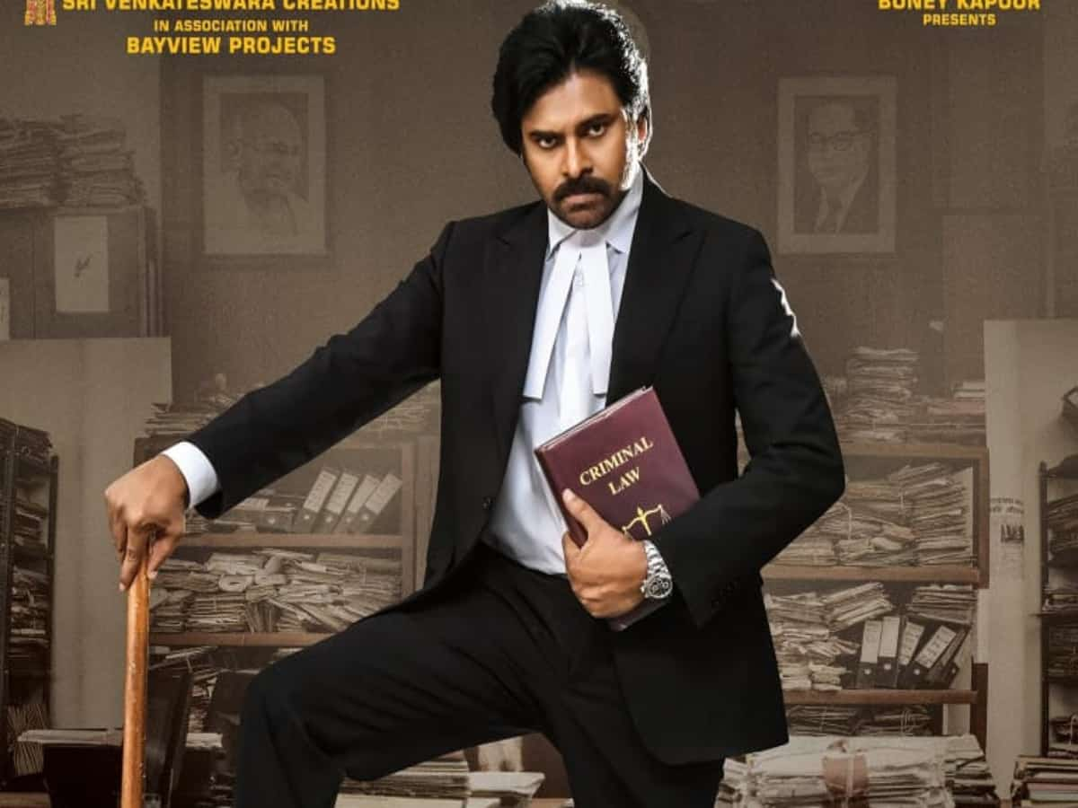 Pawan Kalyan-starrer Vakeel Saab box office collection fails to touch 100 crore