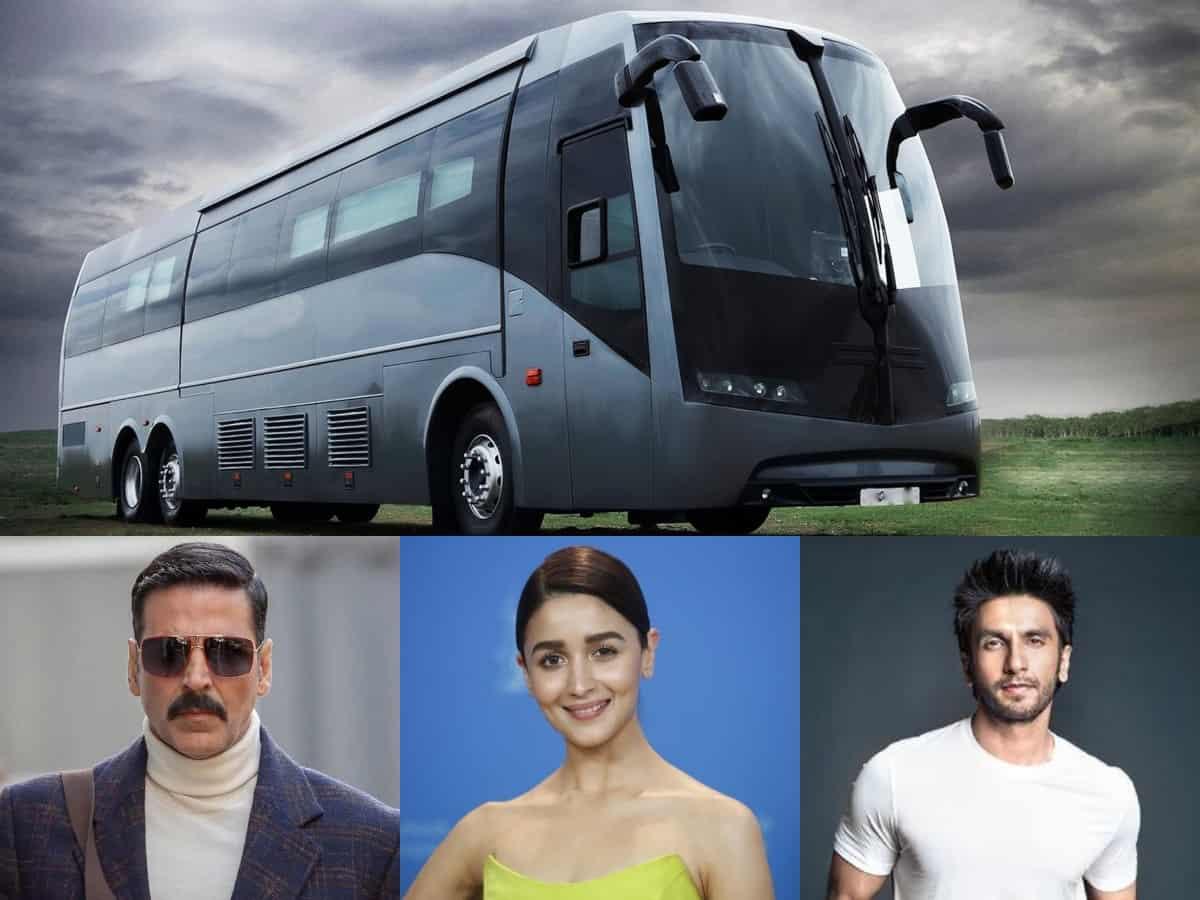 Ranveer, Alia, Akshay's lavish vanity vans put on COVID-19 duty