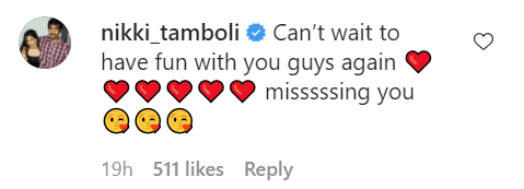 Nikki Tamboli walked out of Khatron Ke Khiladi 11? Here's her comment