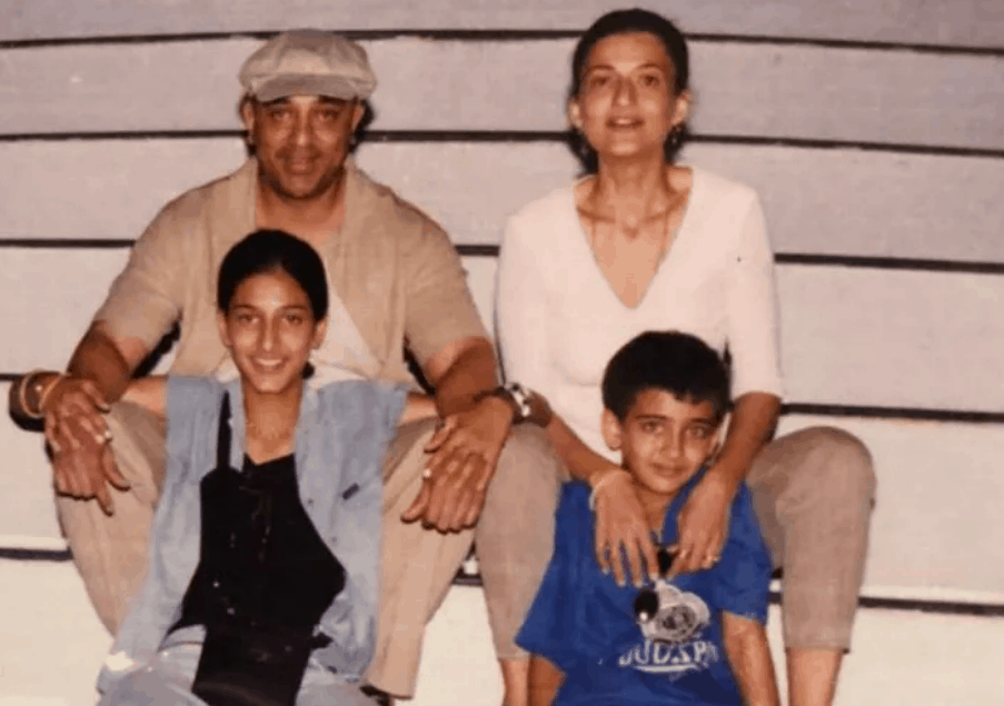 Why Shruti Haasan was 'excited' for her parents' divorce ?
