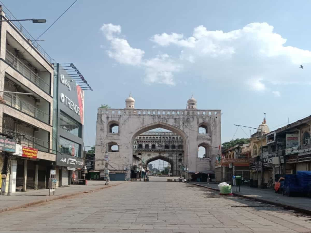 Crowded Charminar? BJP's IT cell head posts unverified video