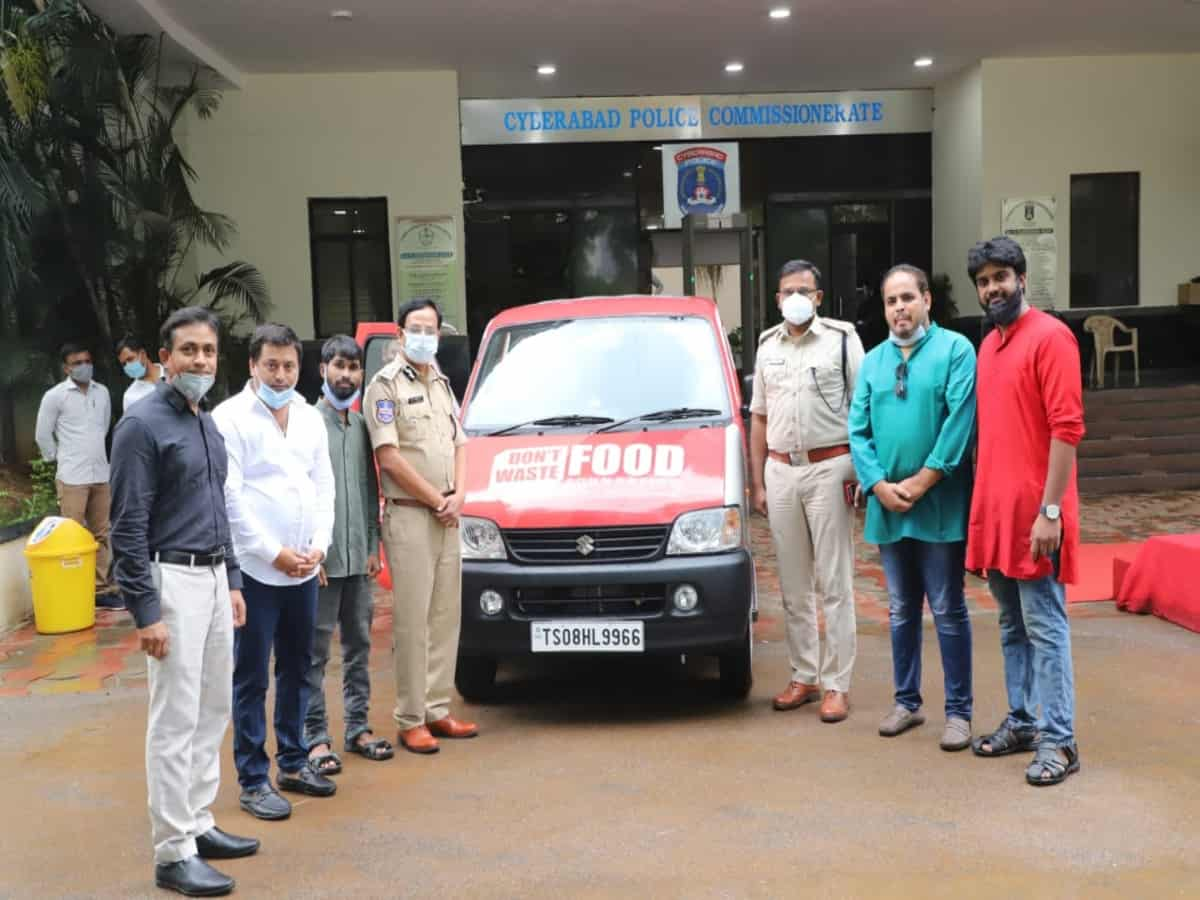 Cyberabad police launches 'Don't Waste Food' initiative