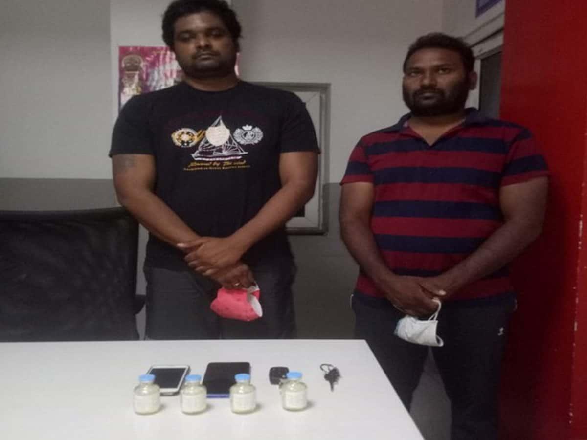 Two held for black marketing black fungus drug in Hyderabad