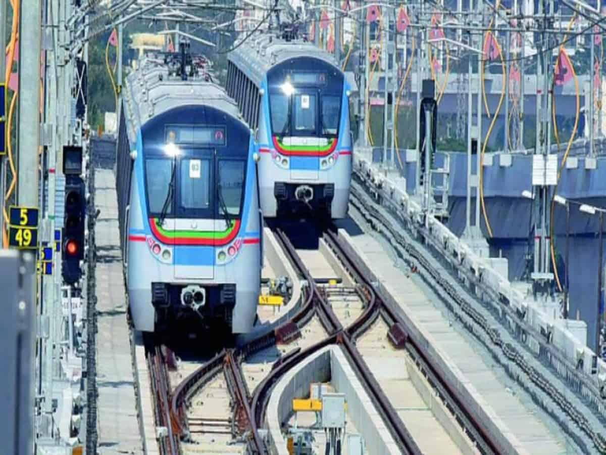 Hyderabad Metro Rail timings revised