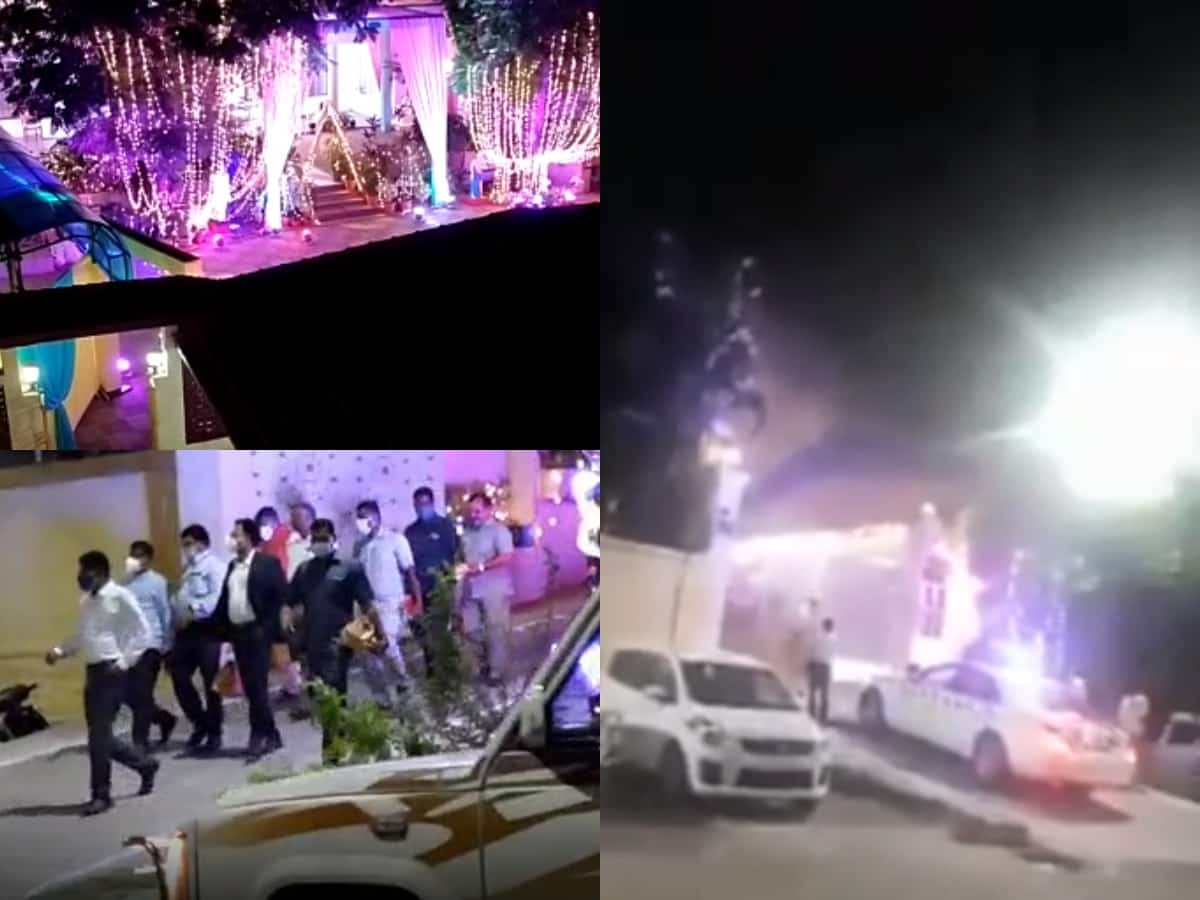 Hyd: IPS officer son's wedding flouting lockdown norms draws flak; he denies charges