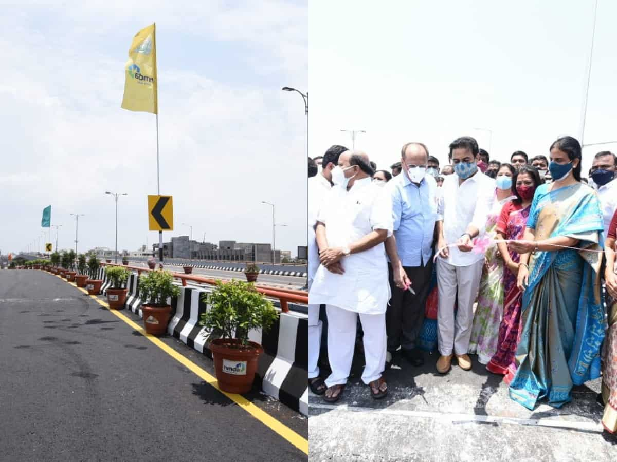 KTR inaugurates ramps for PVNR expressway