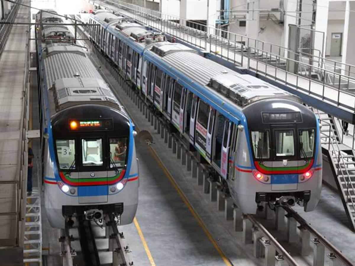 Hyderabad Metro Rail may stop its service temporarily
