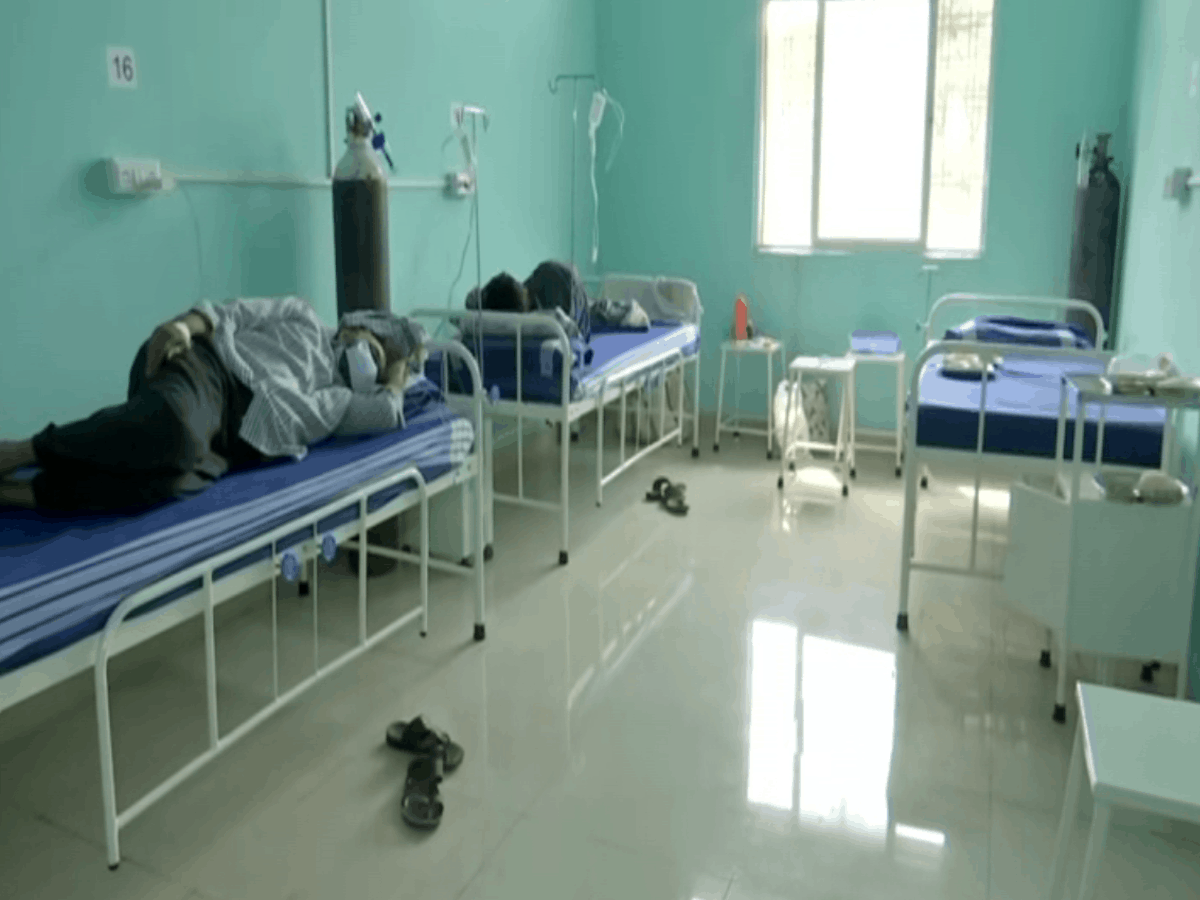 Hyderabad: Mosque converted into 40-bed COVID care centre