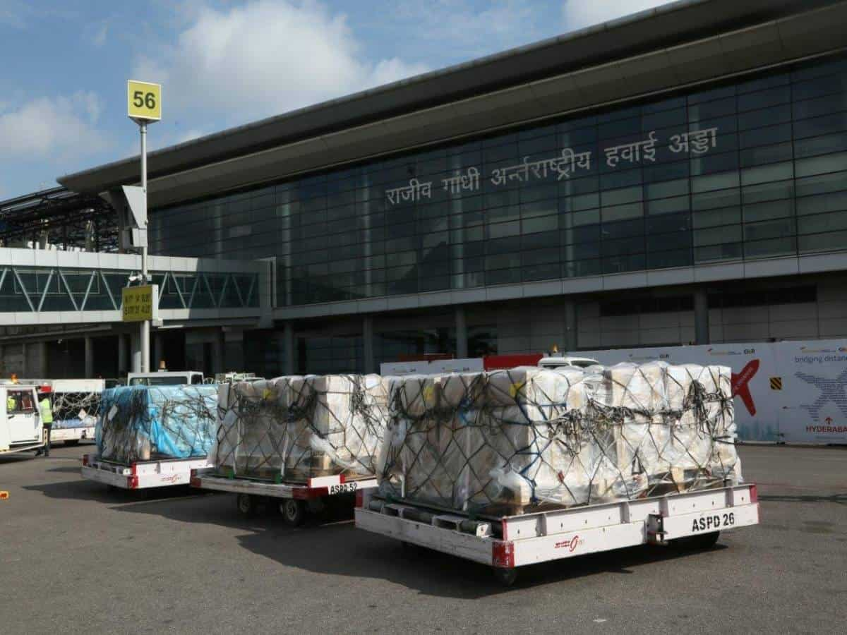 Hyd airport handles over 11K O2 concentrators