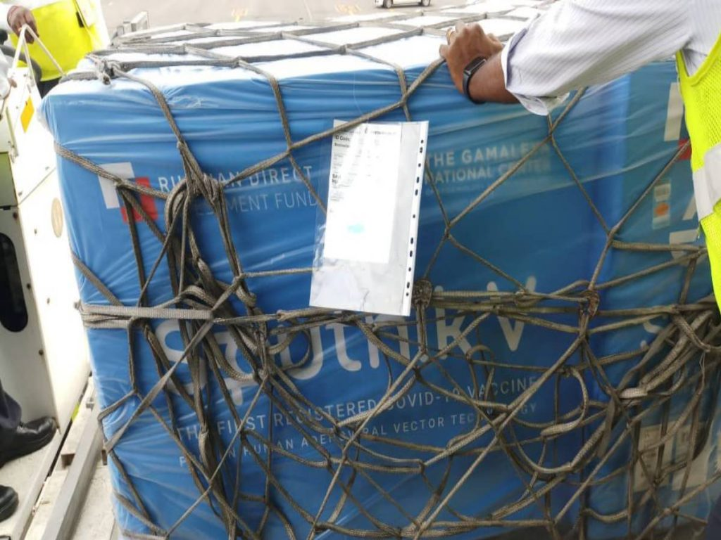 COVID-19: First lot of Russian vaccine Sputnik V arrives in Hyderabad