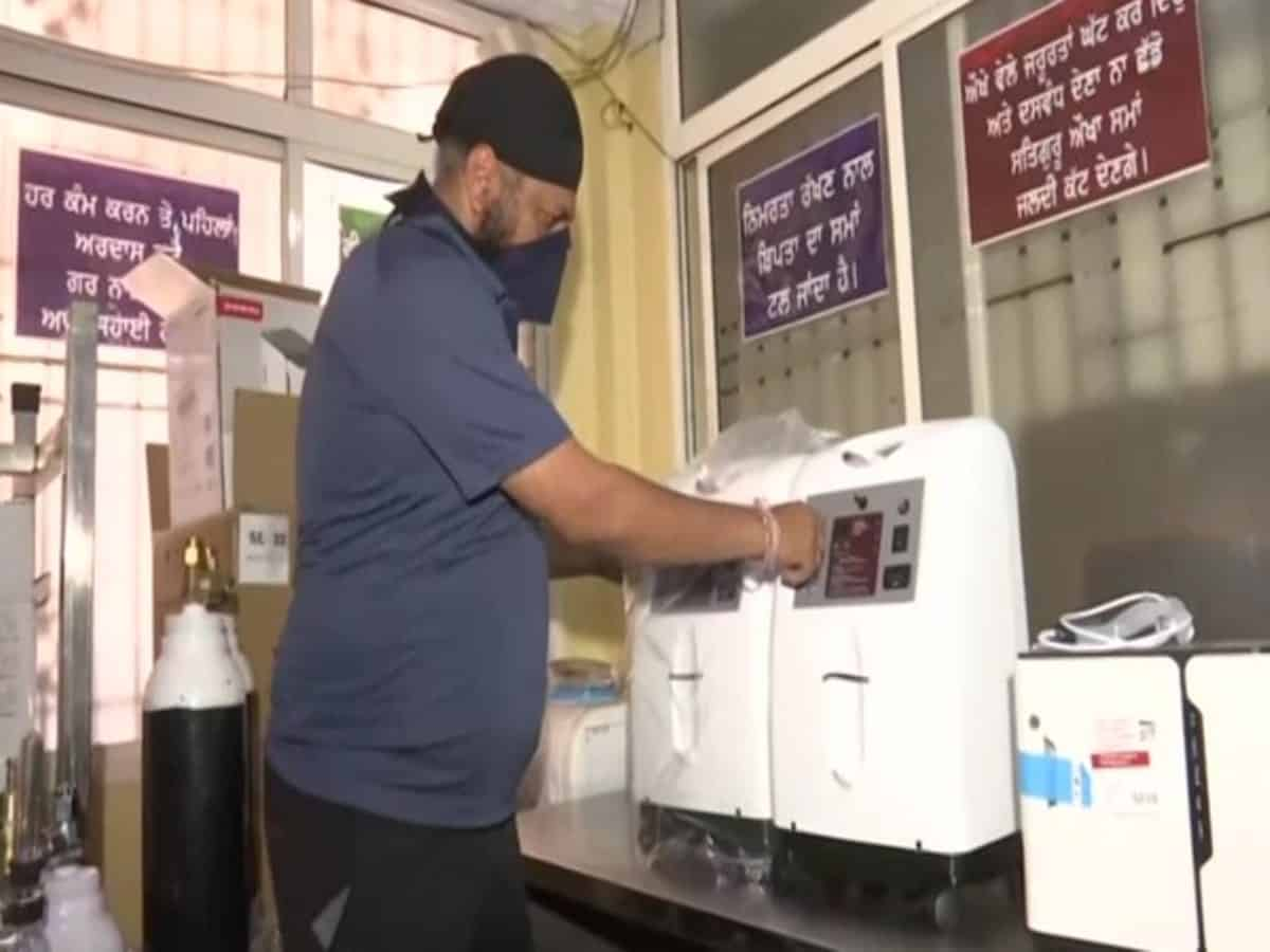 COVID-19: Sikh organisation sets up oxygen bank in Hyderabad