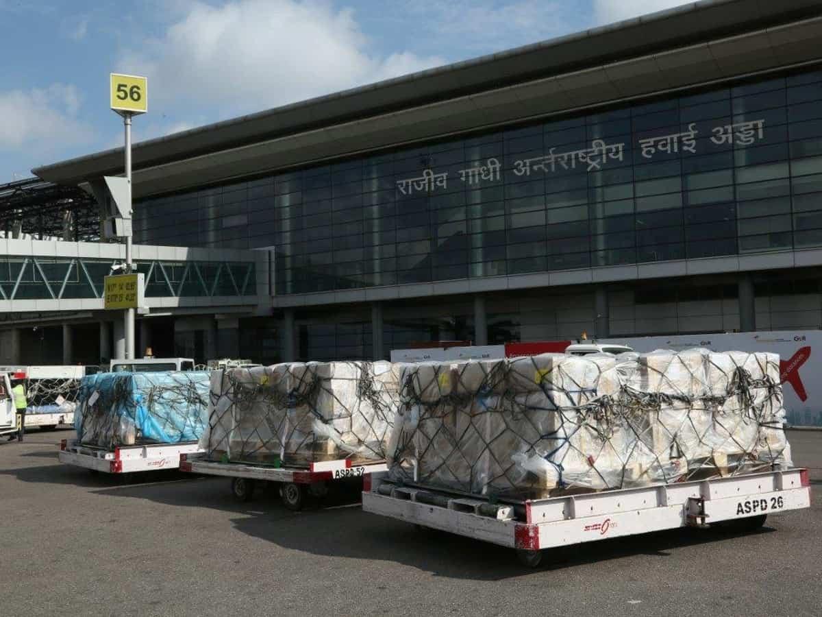 Hyderabad airport handles over 11K Oxygen concentrators