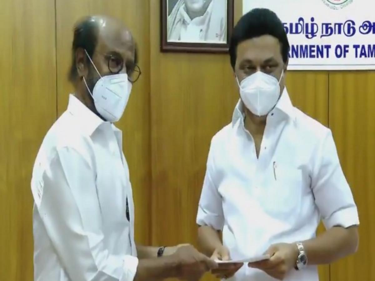 COVID-19: Rajinikanth donates Rs 50 lakh to Tamil Nadu CM Relief Fund