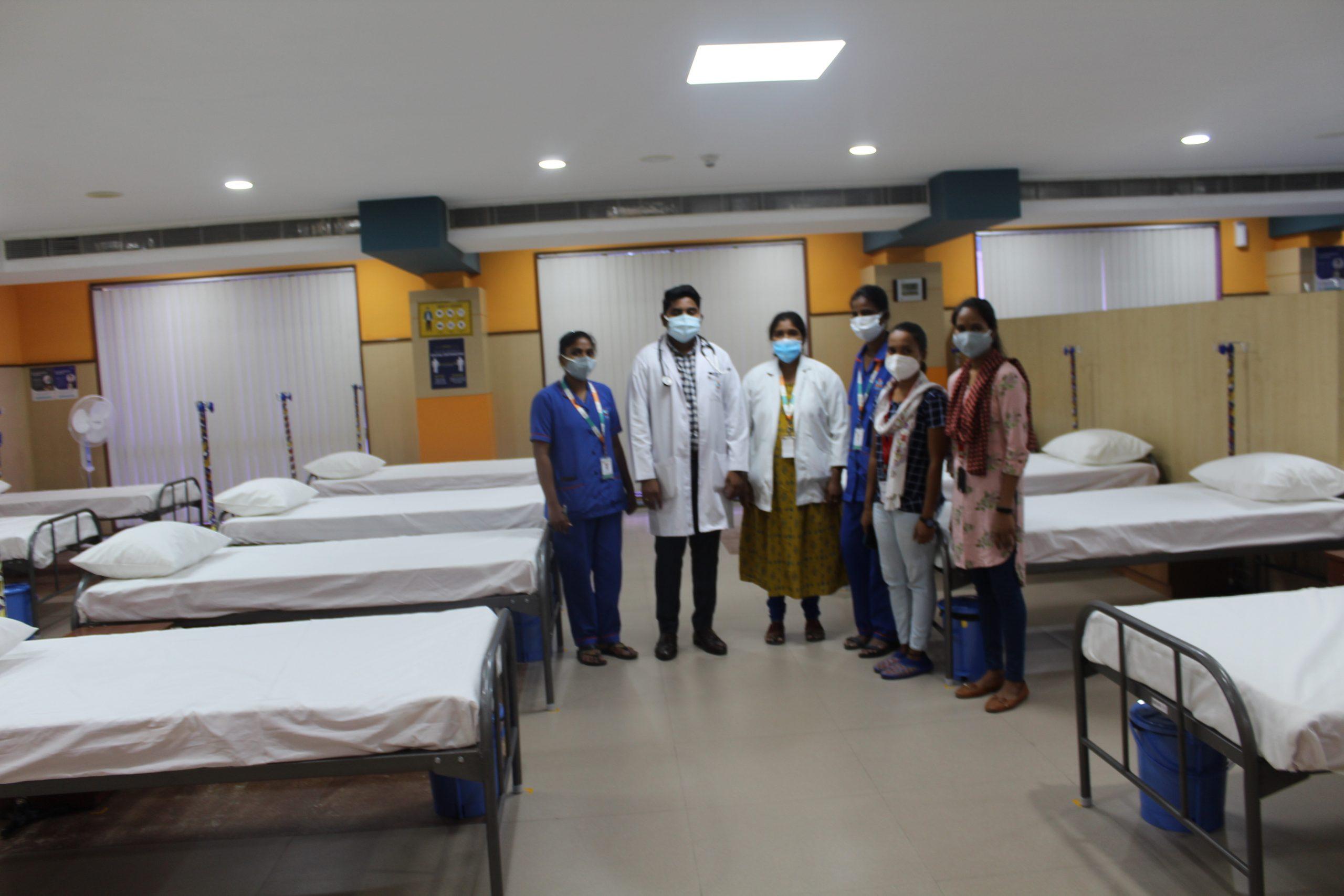 Hyderabad: IT company Virtusa sets up COVID-19 care facility