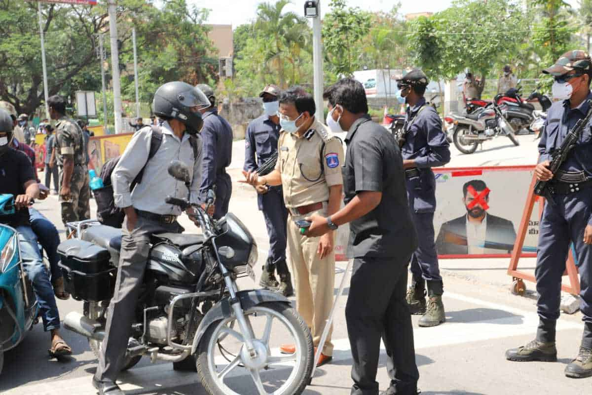 Hyderabad Lockdown: It is back to police brutality once again