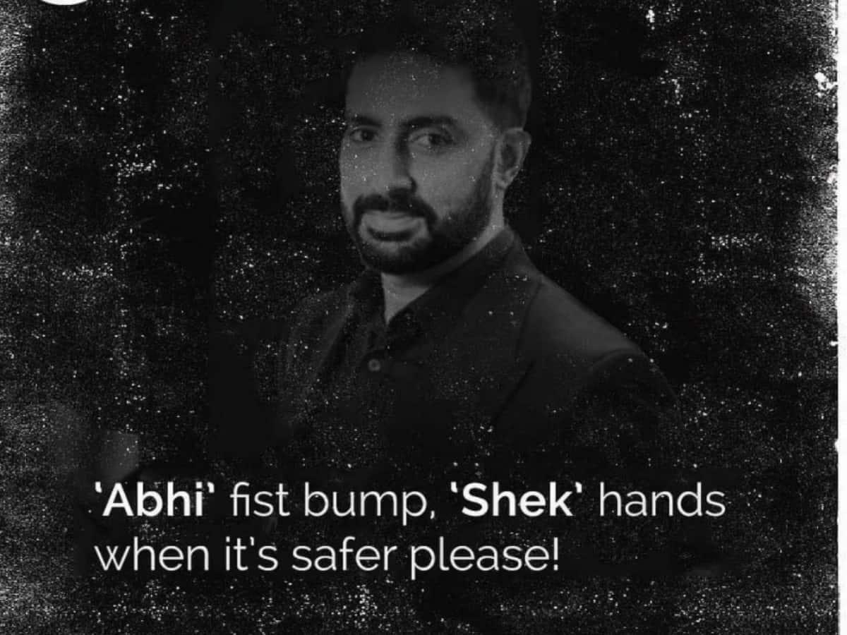 Mumbai Police has quirky twist to Abhishek Bachchan's name
