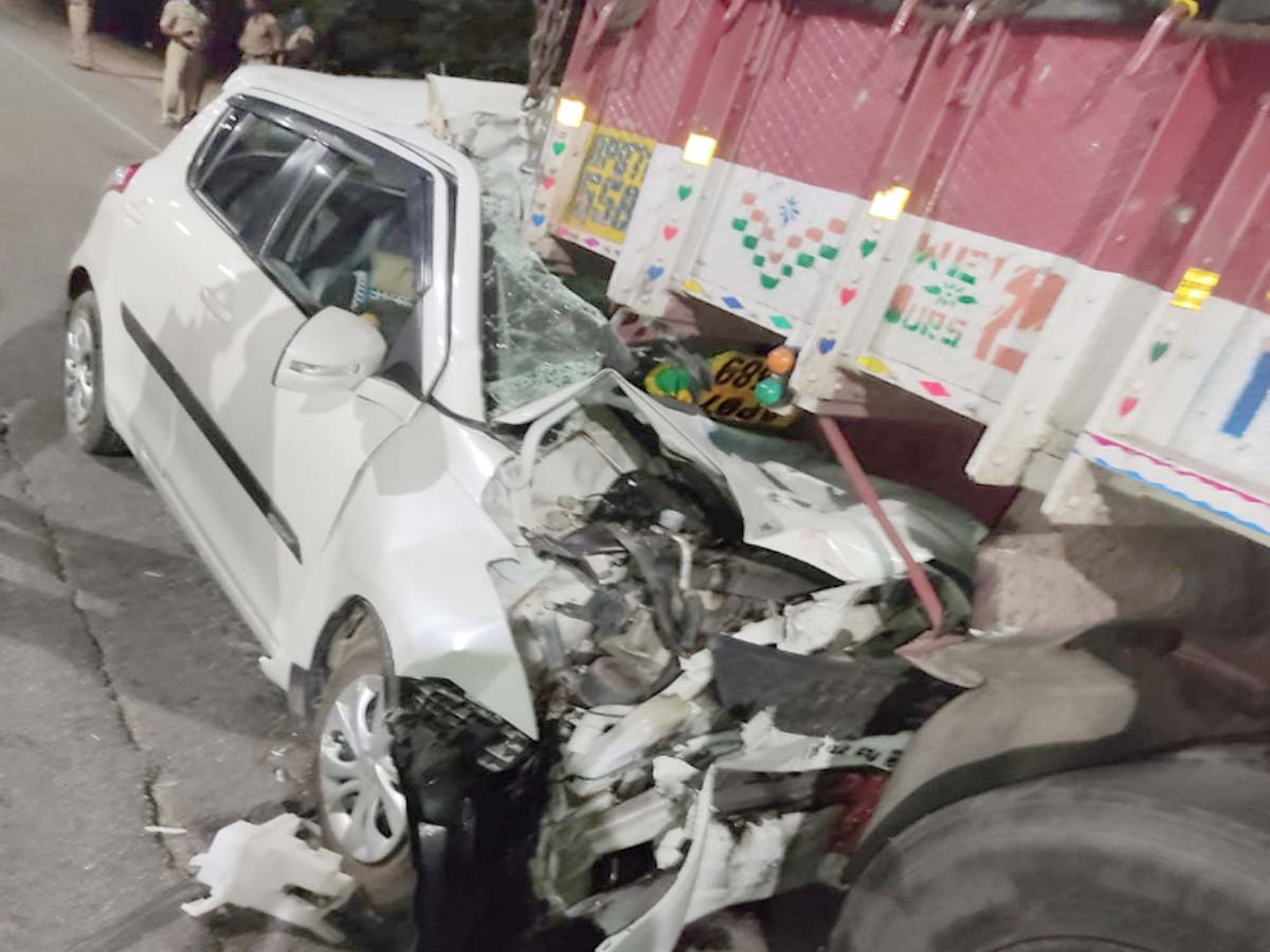 City police Inspector, wife killed in a tragic road accident