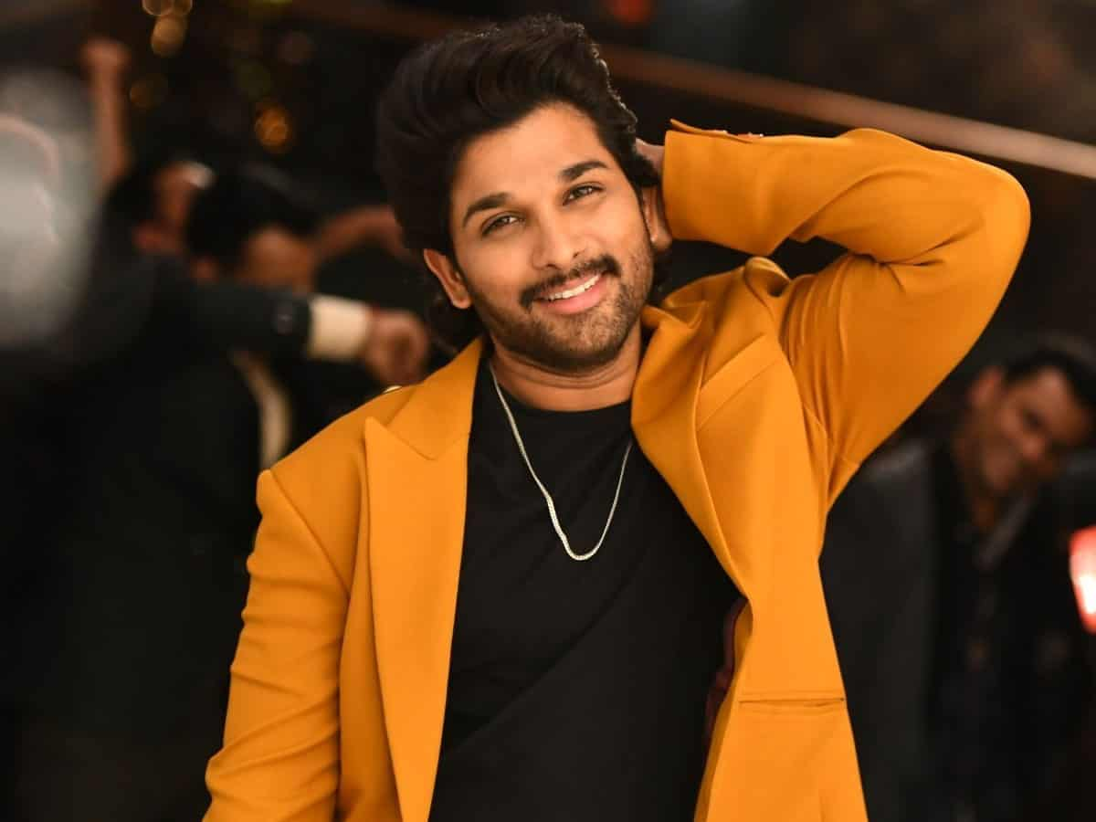 Allu Arjun shares health update after testing COVID positive