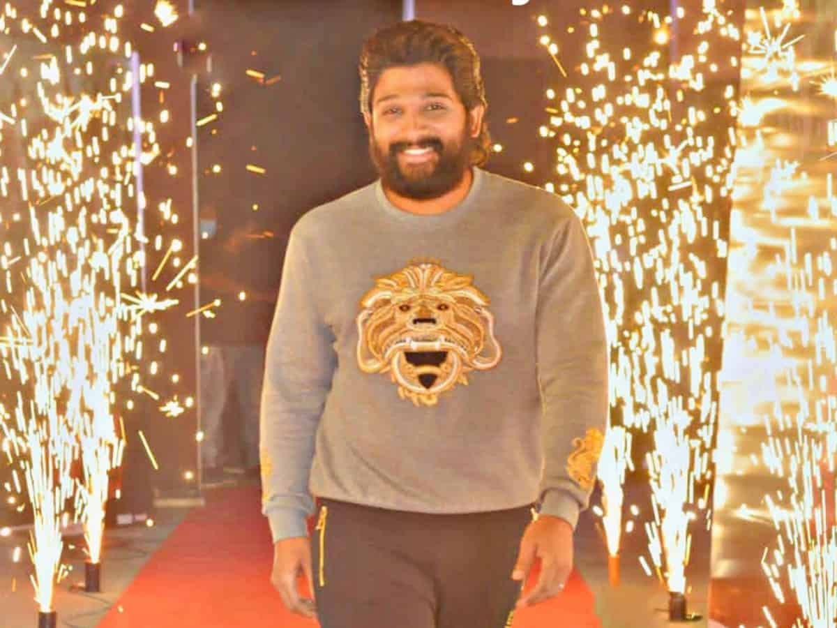 Allu Arjun shares his health update with fans