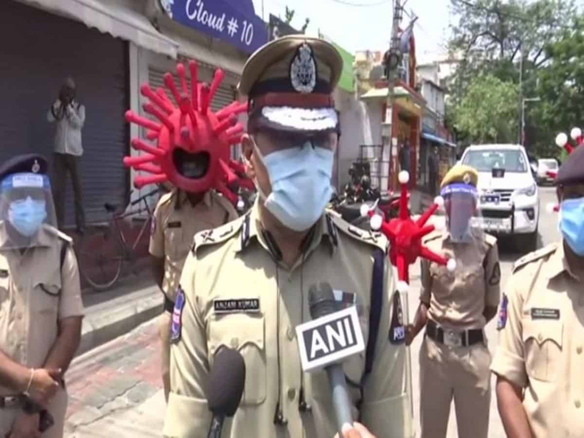 99 pc population adhering to lockdown guidelines: Hyderabad CP